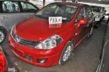 Nissan Tiida. ТЕМНО-КРАСНЫЙ (NAC)