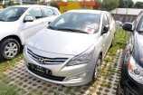 Hyundai Solaris. SLEEK SILVER (RHM)