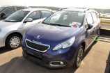 Peugeot 2008. СИНИЙ (BLUE VIRTUEL) (K4M0)