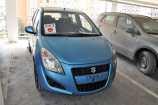 Suzuki Splash. SPARKLING BLUE (ZDQ)