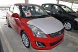 Suzuki Splash. BRIGHT RED (ZCF)