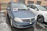 Renault Logan. СИНИЙ МИНЕРАЛ (RNF)
