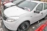Renault Sandero. БЕЛЫЙ ЛЕД (369)