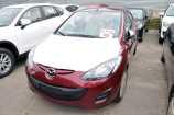 Mazda Mazda2. BURGUNDY RED_БОРДОВЫЙ (40F)