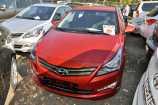 Hyundai Solaris. GARNET RED (TDY)