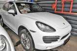Porsche Cayenne. БЕЛЫЙ НЕМЕТАЛЛИК_WHITE (0Q)