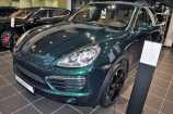 Porsche Cayenne. ЗЕЛЕНЫЙ МЕТАЛЛИК_JET GREEN METALLIC (J6)