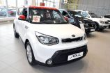 Kia Soul. CLEAR WHITE + INFERNO RED (AH1)