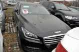 Hyundai Genesis. ONYX (CASPIAN) BLACK_ЧЕРНЫЙ (YB6)
