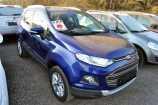 Ford EcoSport. СИНИЙ (DEEP IMPACT BLUE)