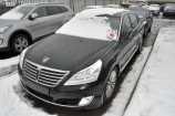 Hyundai Equus. ONYX BLACK (YB6)