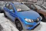 Renault Sandero Stepway. ЛАЗУРНО-СИНИЙ (RPL)